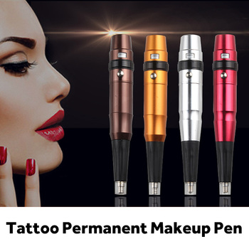Powder Micropigmentacion Tattoo Permanent Makeup Pen Microblading Machine Eyebrow Lip Tattoo Machine Swiss Motor Pen Gun недорого