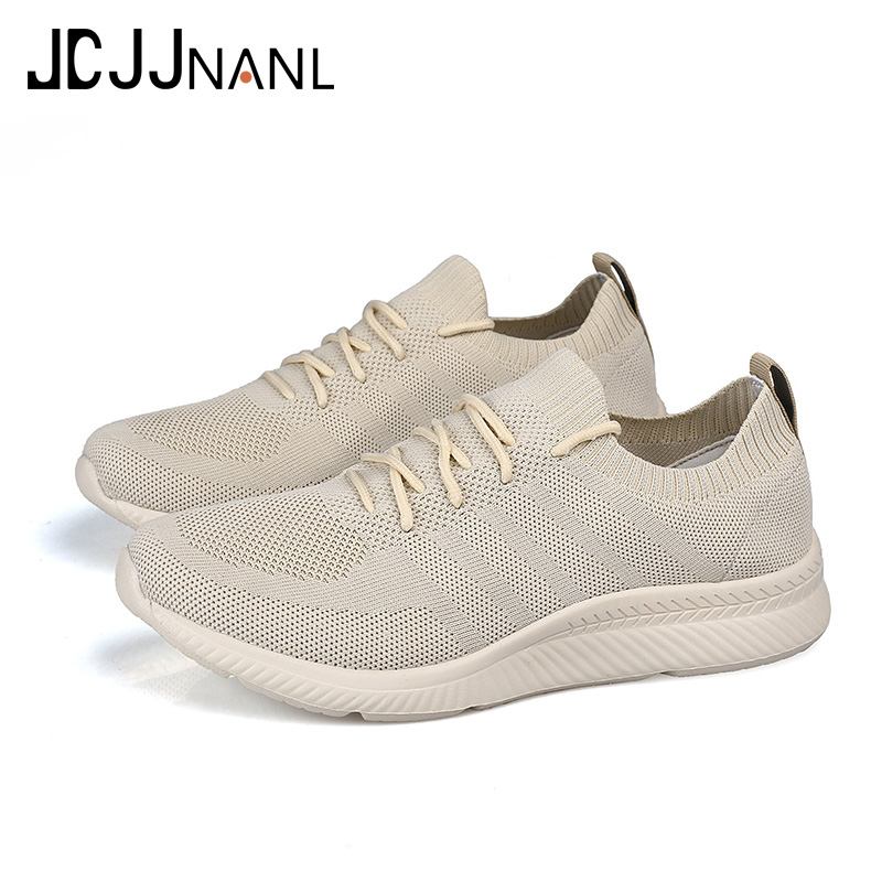 Buy JCJJNANL Men Shoes Beathable Air Mesh Men Casual Shoes Slip on Fall Sock Sneakers mens shoes hombres zapatos Plus Size 46