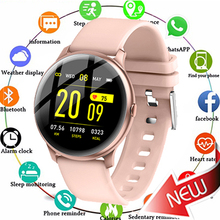 цена 2019 KW19 Smart watch Women Heart rate monitor Men Sport Smartwatch Message reminder Fitness tracker For Android and IOS PK Q9 онлайн в 2017 году
