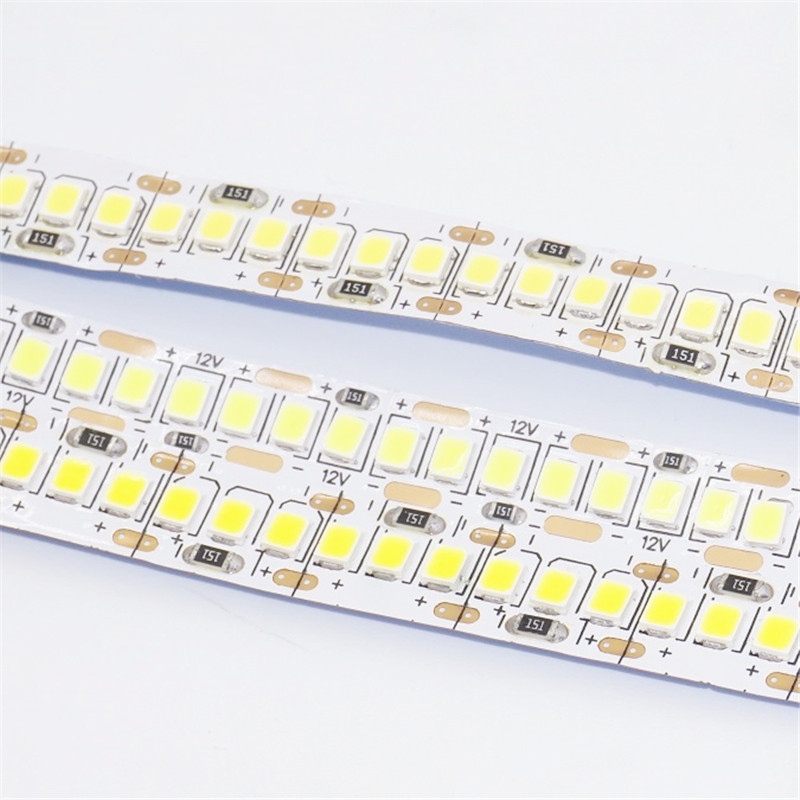 5M/Roll 12VDC 2835 1200 LED Led Strip ,10mm Wide 1.25cm Cut 18W Powerful Linear Tape Light ,indoor Ceiling Background Soft Strip