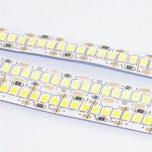 5 M/Roll 12VDC 2835 1200 LED led streifen, 10mm breite 1,25 cm cut 18W leistungsstarke linear band licht, innen decke hintergrund weichen streifen