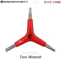 Bicicleta mão 4/5/6mm 3 way y-shaped hex chave chave chave ferramenta de reparo para bicicleta mtb mountain bike estrada bicicleta ciclismo