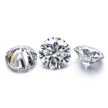 Starsgem Top Quality 2ct 8mm DEF Loose Moissanite Test Positive Moissanite Stone Ready To Ship