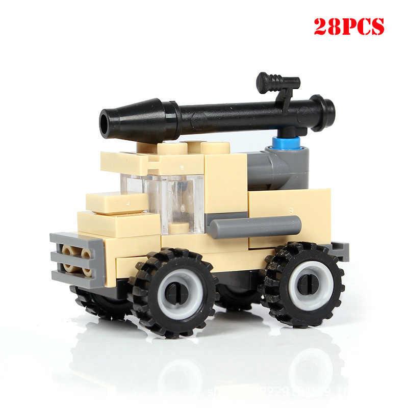 Военные спецназ оружие Танк самолет грузовой автотранспорт строительные блоки Совместимые Legoed город WW2 армейские аксессуары Кирпичи Детские игрушки