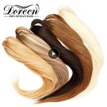 24 26 inch 160g Ponytail Human Hair Magic Wrap Around Clip In Ponytail Extensions 100%