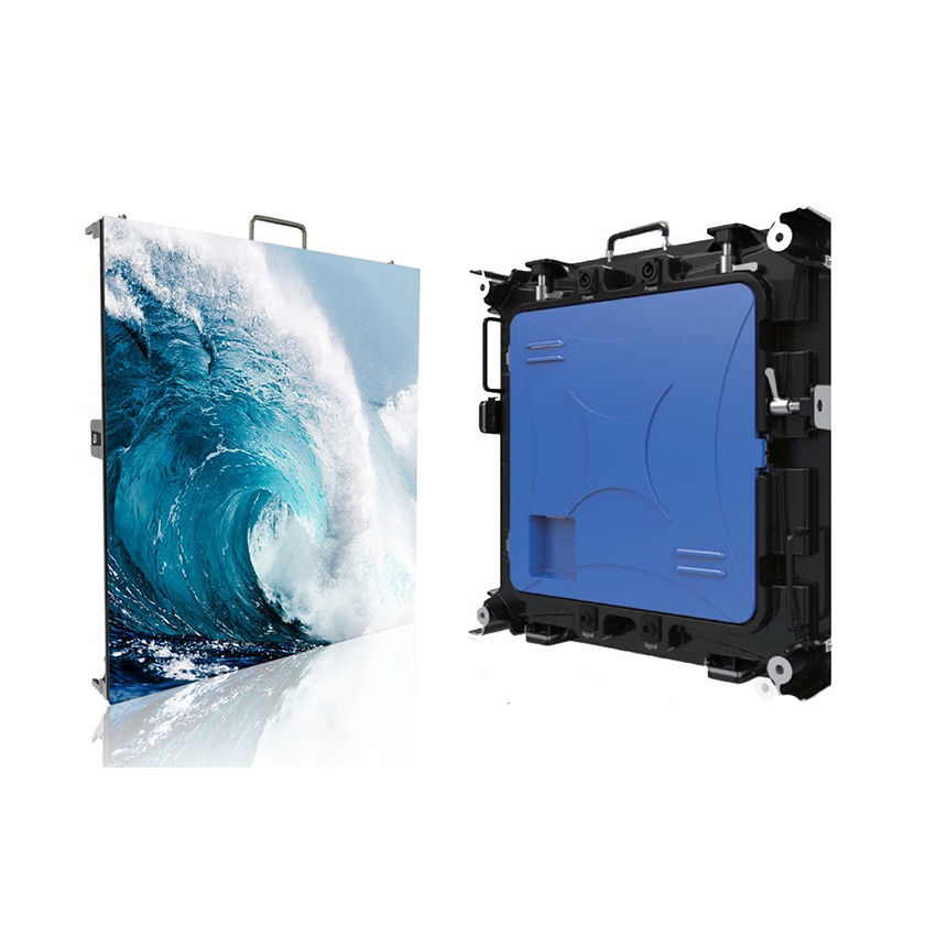 HD Full Color Indoor P2.5 SMD2121 256*256dots Die Casting Aluminum Cabinet Rental Panel For Stage Led Screen Display