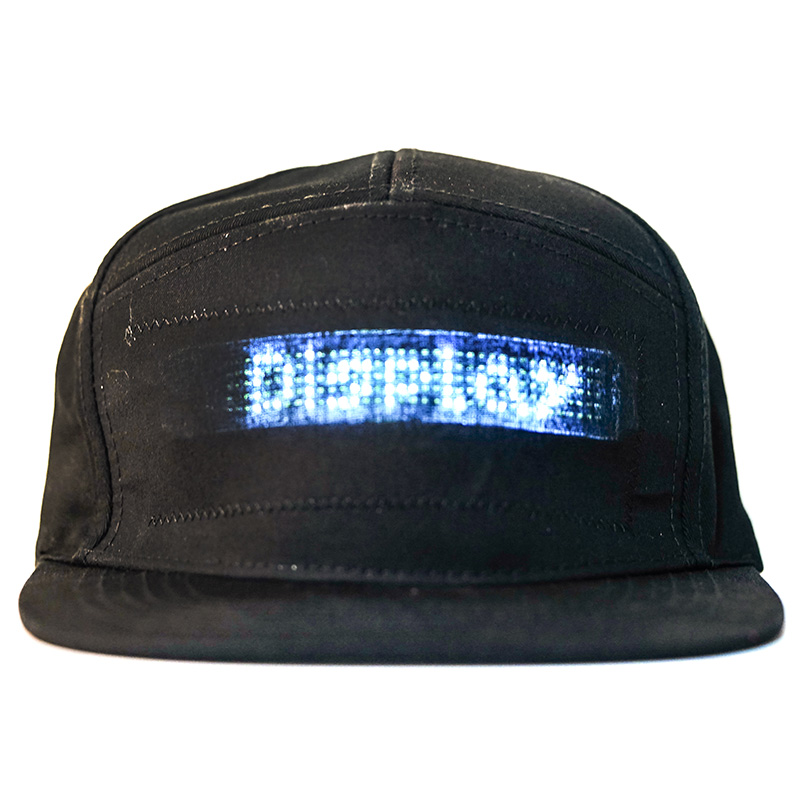 LED Message Hat with Scrolling Message and Bluetooth Used for Sports Dance and Party 3
