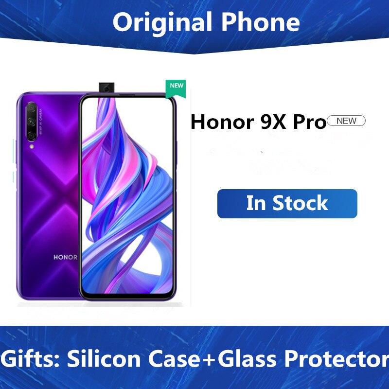 "Original Honor 9X Pro Handy Kirin 810 Android 9,0 6.59 ""IPS 2340X1080 8GB RAM 256GB ROM erhöhung Kamera 48,0 MP"