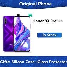 Оригинальный мобильный телефон Honor 9X Pro, Kirin 810, на базе Android 9,0, экран 6,59 дюйма IPS 2340X1080, 8 ГБ ОЗУ 256 Гб ПЗУ, выдвижная камера 48 МП