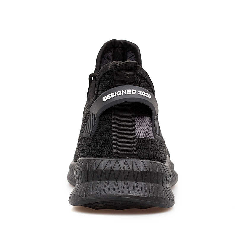 Nuovi Uomini di Modo Scarpe Casual Mesh Traspirante Leggero Nero Calzature Uomo Scarpe Comode da Passeggio Scarpe da Ginnastica Scarpe Sportive All'aperto