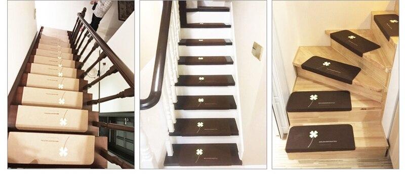Escada Auto-Adesivo Tapete Almofadas Do Pé Quente