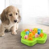 Safe Pet Dog Bowl Slow Feeder Anti Choking Puppy Cat Eating Dish Bowl Anti Gulping Food Plate