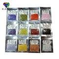 1000 шт./лот 0,8 ~ 3,0 мм 5A качество Различные цвета свободный CZ камень круглый бриллиантовая огранка кубический цирконий синтетические драгоцен...