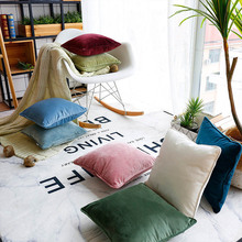 Modern Nordic Design Pillow Cover Soild Color Sofa Cushion Pillowcase home Decoration cover For Home
