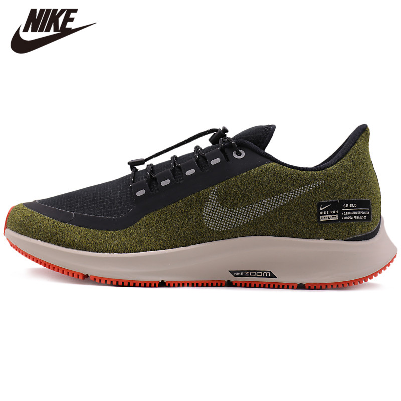 Original NIKE AIR ZM PEGASUS 35 SHIELD Men's Running Shoes Hot Anti-slip Sneakers
