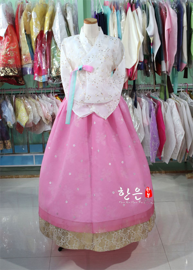 Korea Imported Fabric / New Improved Hanbok / Bride High-end Hanbok /
