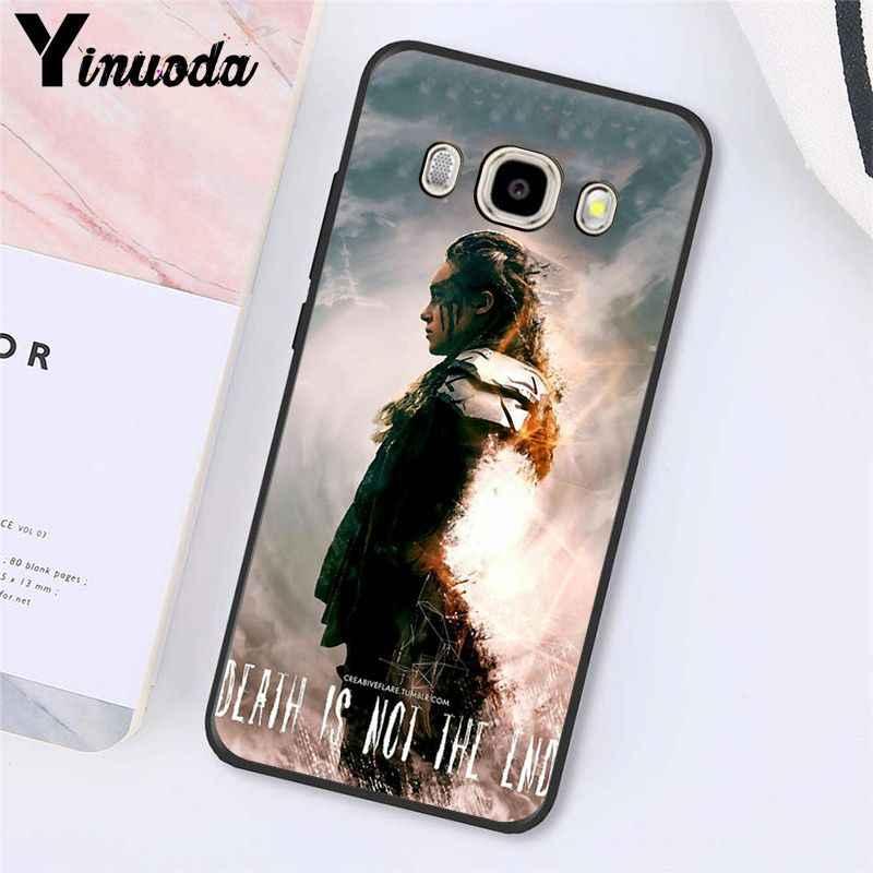 Yinuoda Heda Lexa Il 100 TV Show Cassa Del Telefono Per Samsung Galaxy J7 J6 J8 J4 J4Plus J7 DUO J7NEO j2 J7 Prime