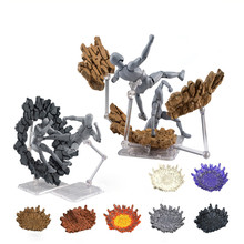  Explosion Effect Impact Creative Crack for Kamen Rider Figma SHF Action Figure Model Accessories