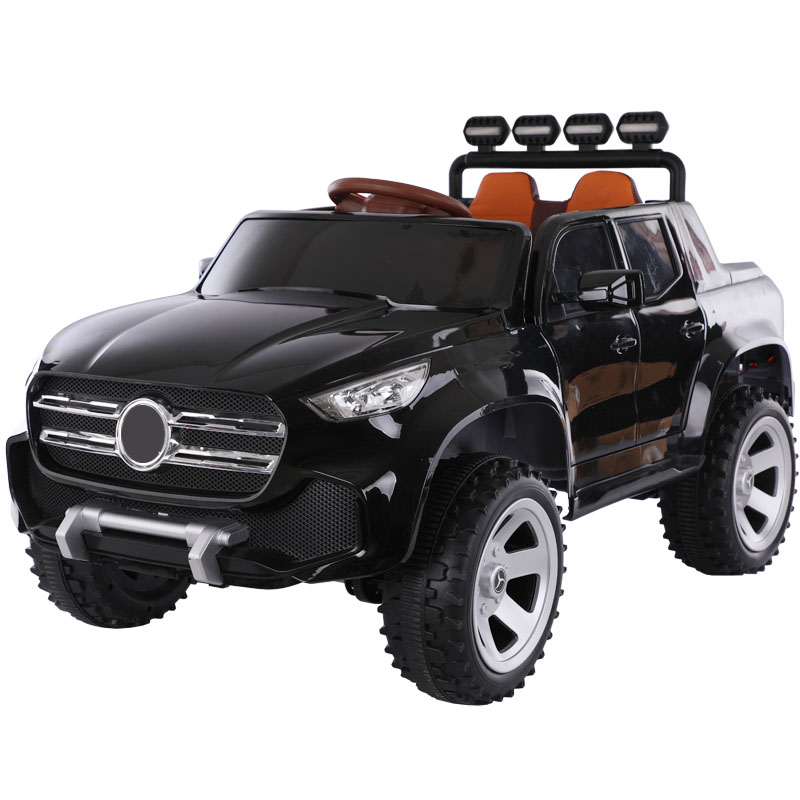 Children's Electric Car Four-wheel Car Can Sit Child Swing Stroller Easy To Operate Luxury Cars Russia Free Shipping