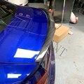 Qiality/задний спойлер из углеродного волокна для внешней отделки БАГАЖНИКА АВТОМОБИЛЯ  багажника  крыла для Audi A4 B9 2016 2017 2018 2019