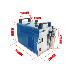 Image 3 - Polisseuse à flamme acrylique 95L 75l H180 H160, Machine à souder à leau, générateur doxygène et dhydrogène pour les bijouteries et les serpentins, 220V