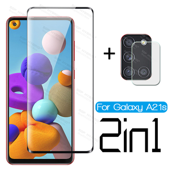 For Samsung Galaxy a21s a21 a71 a51 a11 a01 a41 a31 m11 m21 m31 a20 a20s a20e Camera Screen Protector Tremp Safety Glass Cover image