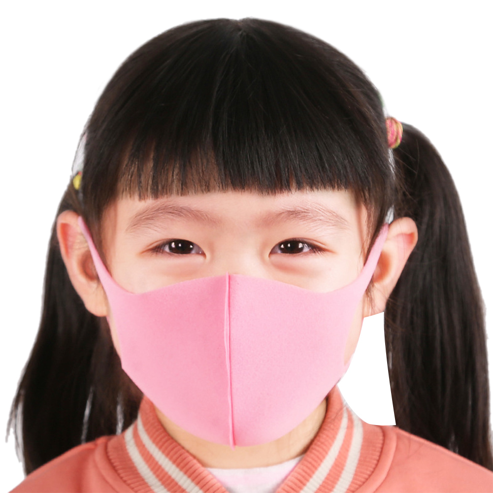 3pcs Sponge Masks For Children Cotton Mouth Mask Anti Haze Dust Washable Reusable Child Dustproof Mouth-muffle Mask Face Masks