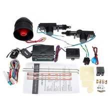 Sistema de alarma de coche, Kit de coche, cerradura de puerta Central remoto de coche, bloqueo de vehículo, sistema de entrada sin llave con controladores remotos