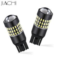 Jiachi 100個T20 7443 7440 W21W自動ledランプ自動車用ブレーキターンシグナル電球自動テールライト3014チップDC12V 24V