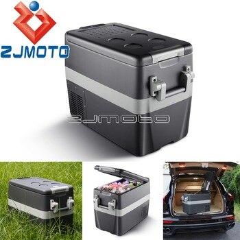 -18ºC to 10ºC Auto Car Fridge Freezer Truck Home 40L Portable Family Traveling Fishing Car Refrigerator Refrigeration Cooler