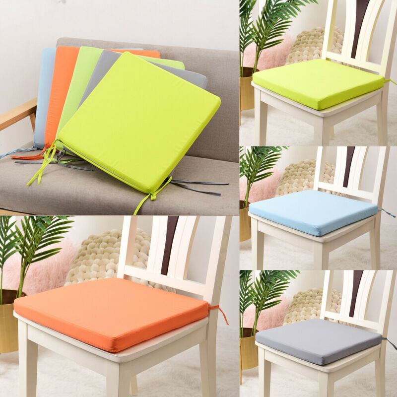 Indoor Outdoor Dining Garden Patio Soft Chair Seat Pad Cushion Home Decor 40cm