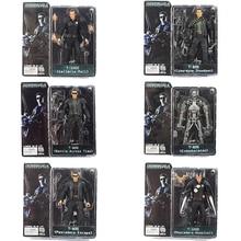 18cm NECA Terminator 2 Action Figur T 800 ENDOSKELETON Galleria Mall Cyberdyne Showdown Schlacht Über Zeit Pescadero Modell Spielzeug