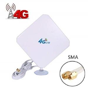 Image 1 - 4 4g lteアンテナsmaアンテナ高利得アンテナデュアルmimo smaオスコネクタ3グラム/4グラムwifi信号ブースターcpeルータ