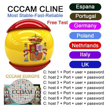Europe 3 /6/7 Lines Cccam 3/6/7 Full HD 1 Year Cccams for Use Satellite TV Receiver DVB-S2 hd