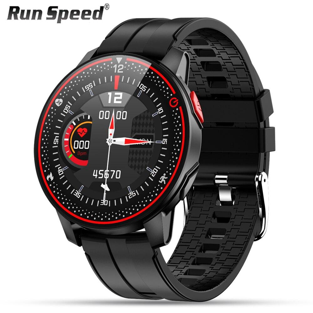 Новинка 2021, мужские Смарт-часы с влагозащитой IP68, спортивные многофункциональные часы для фитнеса, Будильник, сообщения, напоминания, Смарт-...