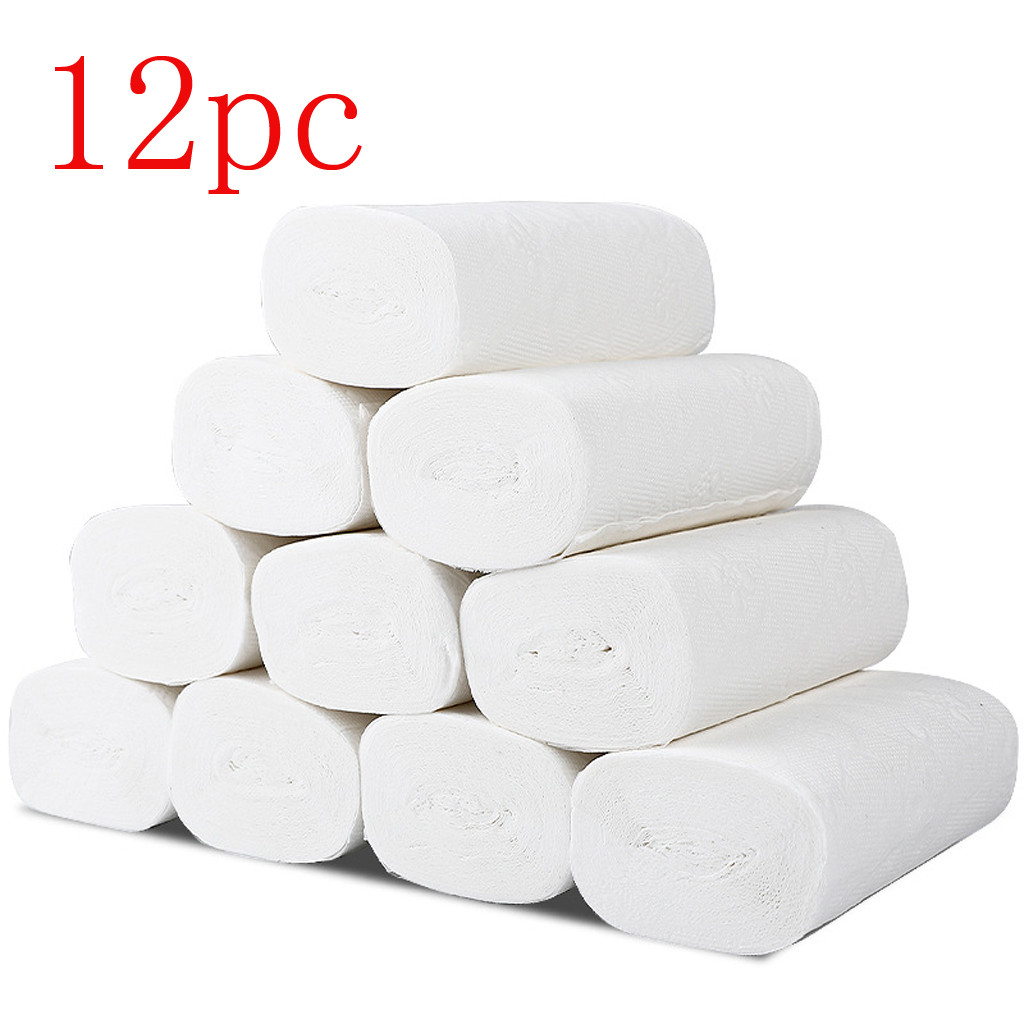 Paper Towels, Soft Toilet Paper, White Paper Towels, Household Three-Layer Paper Towels, Soft Skin-Friendly Paper Towels