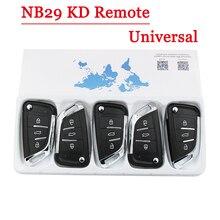 KEYDIY NB29 KD пульт дистанционного управления, многофункциональный пульт дистанционного управления с 3 кнопками для KD900 KD900 + URG200 KD X2 5 функций в одном ключе (5 шт./лот)