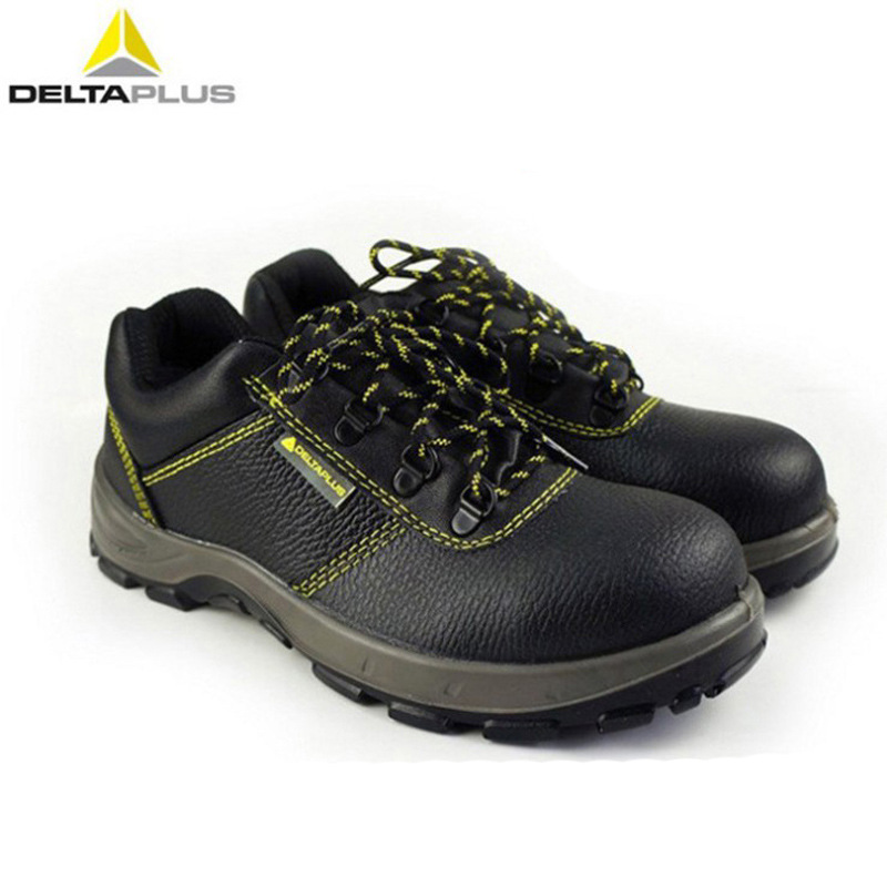 Deltaplus Safety Shoes 301102 Cowhide Smashing Anti-static Oil-Resistant Safety Shoes Currently Available Wholesale