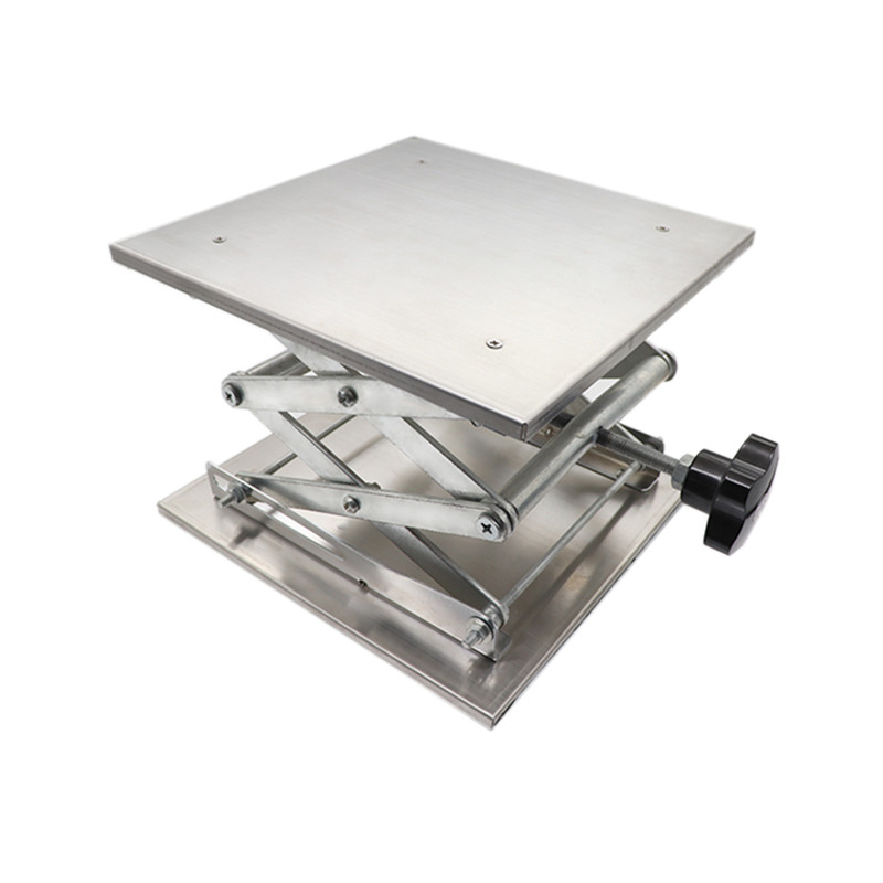 Professional Laboratory Jack Lifting Platform Stand Scissor Rack 150*150*250mm 100mm*100mm*160mm Lifting Tools