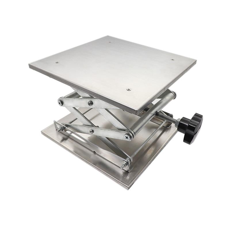 Professional Laboratory Jack Lifting Platform Stand Scissor Rack 150*150*250mm 100mm*100mm*160mm Lifting Tools