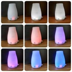 Difusor ultra-sônico do óleo da aromaterapia difusor do óleo da aromaterapia névoa fria com luzes conduzidas da cor