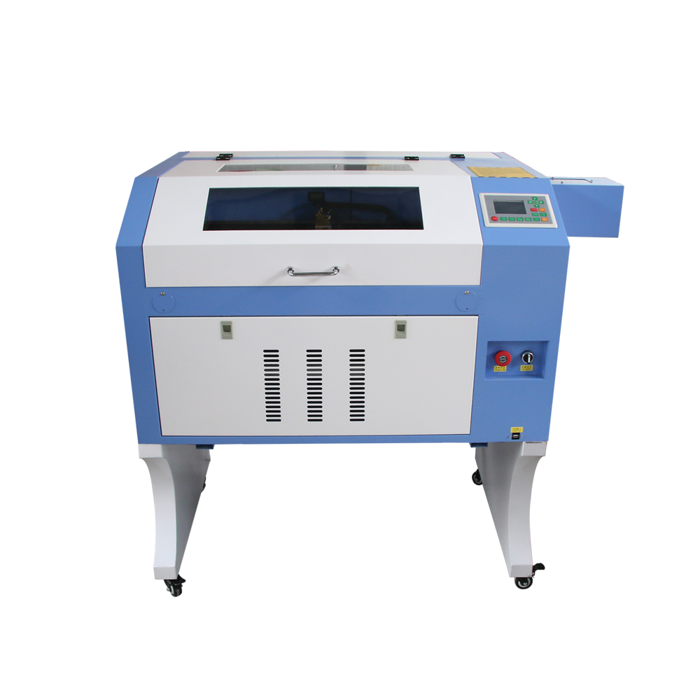 50W 60W 80W 100W 4060 CO2 Wood CNC Laser Cutter Machine , 3d Laser Cutter Machine For Plastic , Leather , MDF , Acrylic