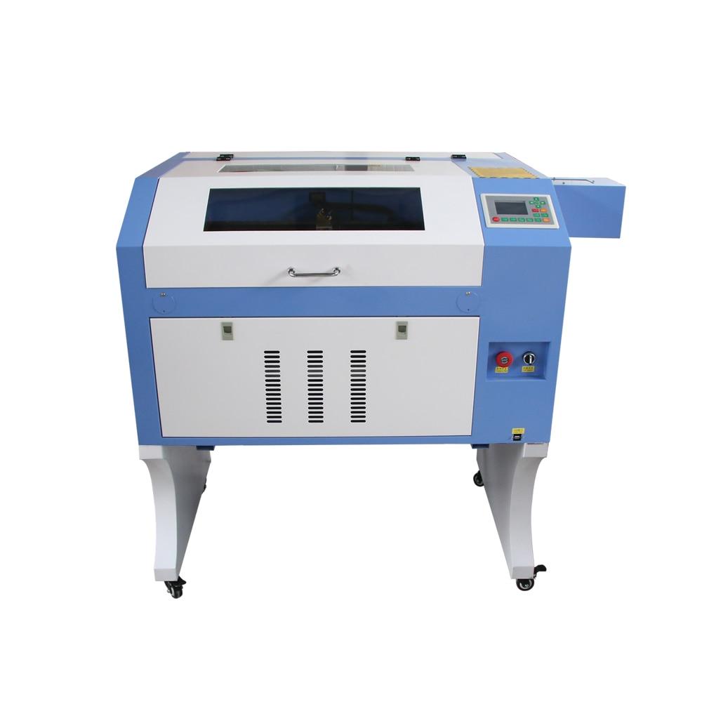 Laser Cutter And Engraver Machine 50W 60W 80W 100W Acrylic Sheet Wood Co2 Laser Cutting 4060 6040 400*600mm