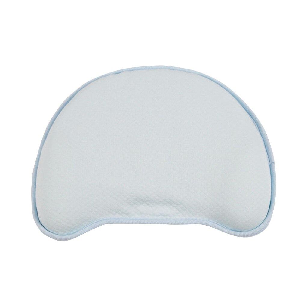Positioner Nursery Neck Support Baby Pillow Memory Foam Portable Anti Roll Elastic Soft Sleeping Prevent Flat Head Detachable