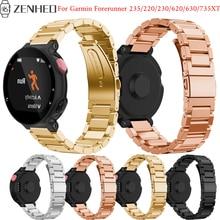 лучшая цена For Garmin Forerunner 235 frontier/classic bracelet For Garmin Forerunner 220/230/620/630/735XT Smart Watch band accessories