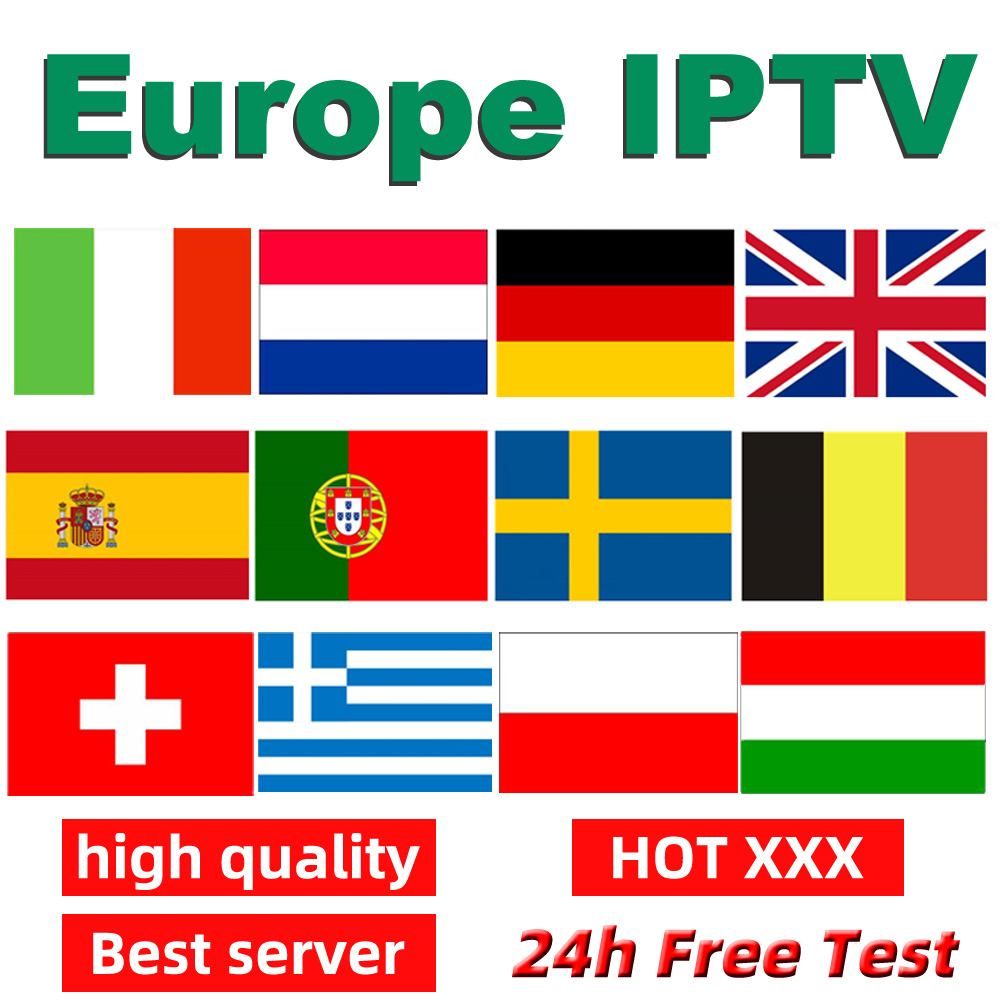 Best Stable 1 Month/3 Months Germany Netherlands Spain Portugal Italy UK IPTV Subscription For Android TV BOX Smart PC Free Test