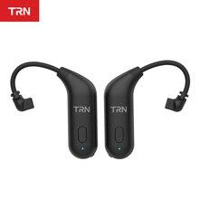 Il più recente TRN BT20 Bluetooth 5.0 gancio per lorecchio con cavo di aggiornamento Bluetooth cavo per cuffie per VX TA1 V90 V20 BA5 ST1 M10 C12 ZSX DQ6