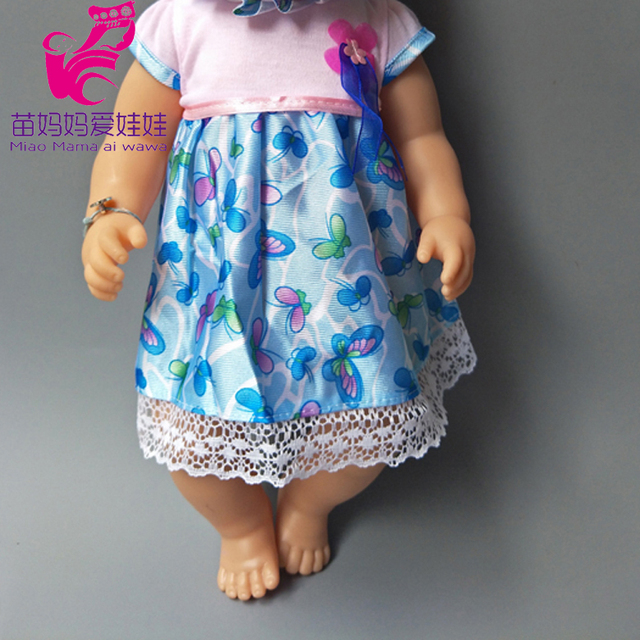 Dolls Rompers Fit 43cm  Baby Doll 18 Inch girl boy Doll pajama Clothes kids play toys 2