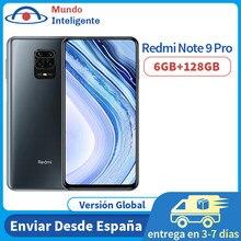 Versión Global Redmi Note 9 Pro 6GB 128GB Smartphone Snapdragon 720G 6,67