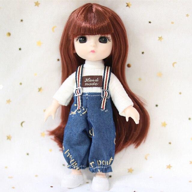 Кукла шарнирная 16 см.